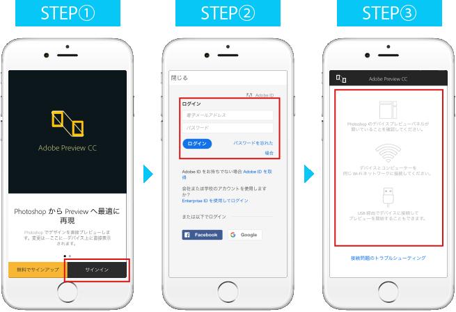 アプリ起動→サインイン→サインイン成功でアプリの設定は完了